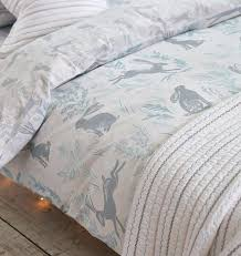 duck egg bedding set hare print single duvet set duck egg duck egg blue duvet sets