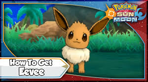 Pokemon Sun and Moon - How To Get Eevee! [SM Tips & Tricks] - YouTube
