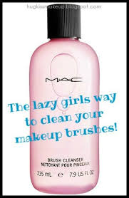 hug kiss makeup mac brush cleanser the lazy way to clean your brushes