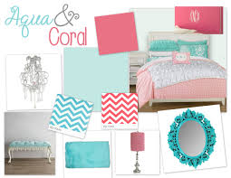 Coral Painted Rooms Aqua Coral Bedroom Guest Bedroom Color Scheme Have The Coral