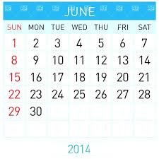 Calendar June July 2015 Template June 2014 Calendar Template Cute May July August June