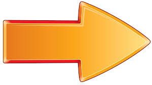 orange clipart png. arrow bold orange right clipart png