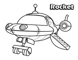 Small Picture The Rocket in Little Einsteins Coloring Page Download Print