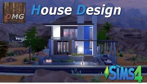 Small Picture THE SIMS 4 House Design tour Modern Sonorana YouTube