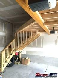 garage storage loft garage stairs short stairs diy garage storage loft plans