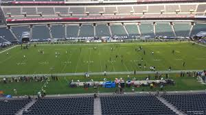 seat view for lincoln financial field section c40