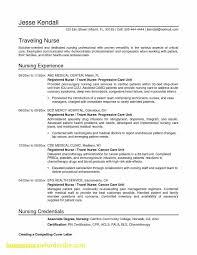 Oncology Rn Resume Oncology Nurse Resume Elegant Good Nursing Resume Badsneaker Net