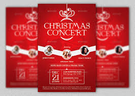Christmas Concert Poster Christmas Concert Flyer And Poster Template Godserv