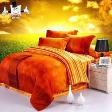 burnt orange comforter