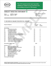 Sample Evaluation Report Adorable About WES Credential Evaluation World Education Services