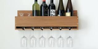 wooden wall wine rack today finally designs the little elm wine rack handmade reclaed wood wall