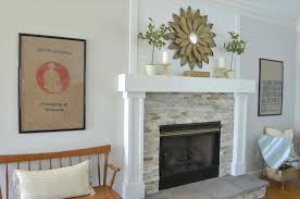 fireplace makeover at home with the barkers refacing a refacing diy brick fireplace remodel a