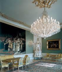 chandeliers from kamenicky senov the prague castle