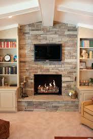 faux stone veneer fireplace cultured stone veneer fireplace