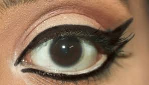 1960s bollywood inspired eye makeup 6