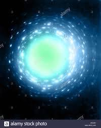 X Ray Diffraction Polyethylene Crystals Stock Photo