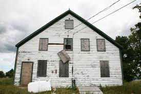 Who owns an abandoned house