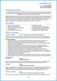 sample personal assistant resume personal assistant cv example writing guide get noticed