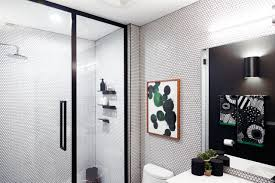 basic bathrooms. Basic Bathroom Gets A Graphic, Modern Renovation - Design Milk Bathrooms