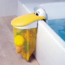 kidskit pelican bath toy storage pouch