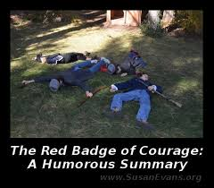 best the red badge of courage images crane  when my son asked if he could write a humorous summary of the red badge of courage i was skeptical whether he could pull it off but he did
