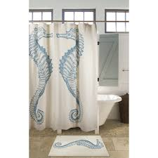 sweet idea seahorse shower curtain manificent decoration buy
