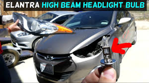 2012 Hyundai Elantra Running Light Bulb Hyundai Elantra High Beam Headlight Bulb Replacement 2011 2012 2013 2014 2015 2016