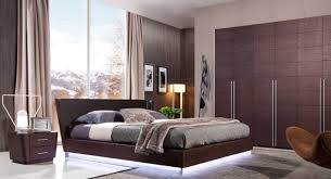 modern wood bedroom furniture. modern wooden bedroom furniture set equipped with led light under the bed wood e