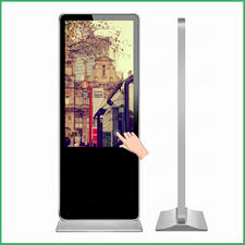 Free Standing Display Board 100inch free standing led advertising digital display board with 45