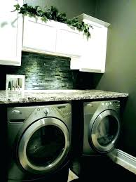 washing machine and dryer counter over washer laundry room countertop countertops