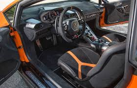 2018 lamborghini huracan interior. simple 2018 interior of the 2018 lamborghini huracan performante intended lamborghini huracan interior