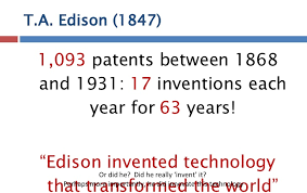 Image result for 1 093 patents inventions
