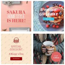 Poster Design Instagram Create Beautiful Instagram Graphics To Promote Your Business