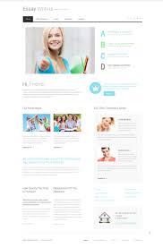 Website Template 49073 Essay Writers Custom Website
