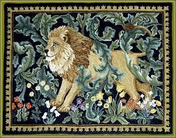 rug hooking patterns william morris