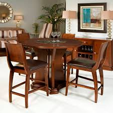 high top dining room tables in all sizes and heights interior counter height round dining table