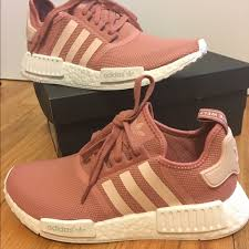 adidas shoes pink and gold. adidas shoes nmd r1 pink sneakers size 9 nwt and gold