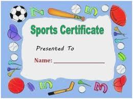 Free Printable Baseball Certificates Inspirational Sample Sports