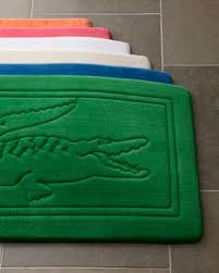 lacoste lacoste accessories home bath bath lacoste logo bath towel