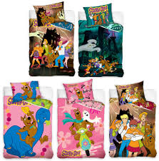 scooby doo haunted house single cotton duvet cover set childrens bedding new