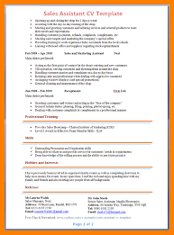 8 Sale Assistant Resume By Nina Designs