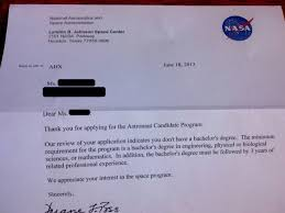 I Applied To Be A Nasa Astronaut Candidate Just For The Rejection