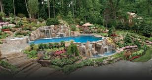 Pool Landscape Design Swimming Pool Landscaping Ideas