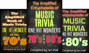 Ian Hall Author Music Trivia 1000 One Hit Wonders From