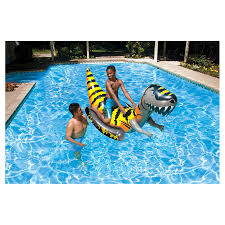 Pool Inflatable Rider Poolmaster Swimming Pool Water Float T rex