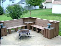 cinder block furniture. Cinder Block Furniture Backyard Concrete