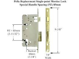 pella storm door handle sliding glass door handles replacements replacement