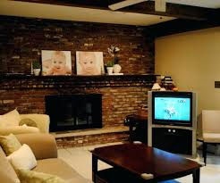 decoration wonderful white color brick wall panels painted fireplace added along with decoration pretty pictures
