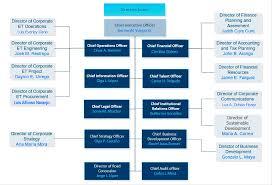 Organizational Chart Of Multinational Company Isa Our Company Organizational Structure