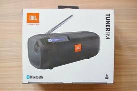 JBL Tuner FM Black Portable Bluetooth Radio RDS Speaker - Brand ...
